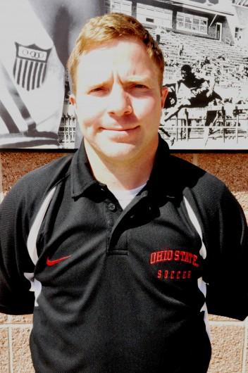 Men's soccer coach Ian Gordona. Credit: Courtesy of OSU Athletics