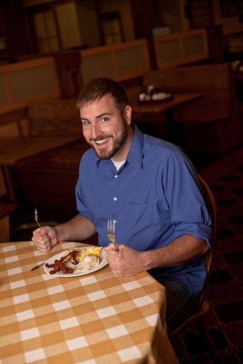 OSU lecturer Nick Dekker, who maintains the breakfast blog 'Breakfast with Nick' Credit: Courtesy of