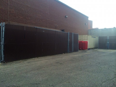 The body of a white man, about age 30, was found in between dumpsters behind the CVS located at 2160 N. High St. May 28, Columbus Police Sgt. Loucious Hollis said. Credit: Liz Young / Editor-in-chief