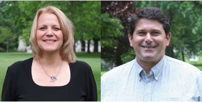 2 professors in College of Arts and Sciences get new roles with higher pay. Left: Janet Box-Steffensmeier, Right: Christopher Hadad. Credit: Courtesy of Amy Murray