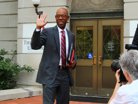 Dr. Michael Drake begins first day as Ohio State's 15th president