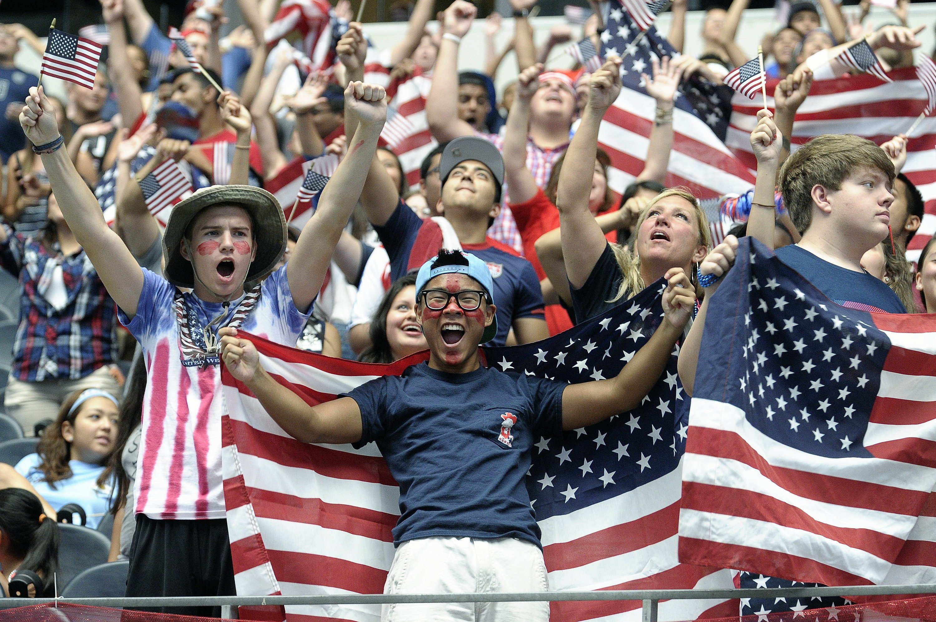 sports soccer cup american respect stadium nationalism cheer fans usa texas worth both momentum gaining despite exit opinion fort robert
