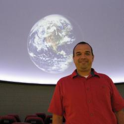 Wayne Schlingman is the new director of the Ohio State Planetarium. Credit: Courtesy of OSU