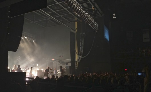 Brand New performs to a sold-out crowd July 11 at the LC Pavilion. Credit: Liz Young / Editor-in-chief