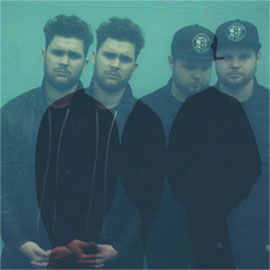 Mike Kerr (left) and Ben Thatcher of UK-based rock duo Royal Blood are set to perform at The Basement July 25. Credit: Courtesy of Royal Blood