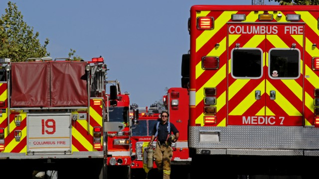 North campus dorm fire contained at Ohio State