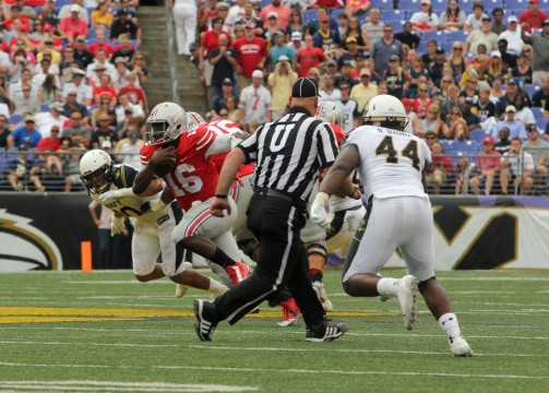 Ohio State's J.T. Barrett collects two weekly Big Ten awards