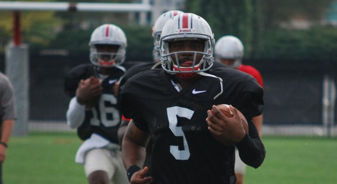 Ohio State's Braxton Miller '100 percent,' but still limited
