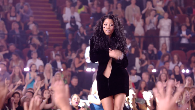 Nicki Minaj performs at the 2014 MTV Video Music Awards. Credit: Courtesy of MTV.