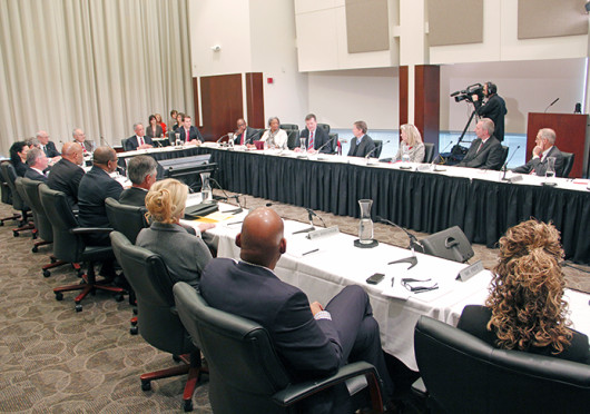 The OSU Board of Trustees is set to discuss the Title IX program at its Aug. 28 meeting. Credit: Ritika Shaw / Lantern TV News director