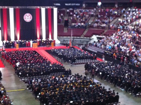 Ohio State grads taken on virtual campus tour during Summer Commencement address