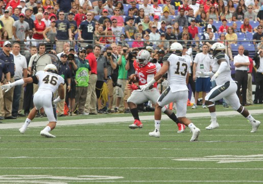 Redshirt-freshmen lead Ohio State to 34-17 win against Navy