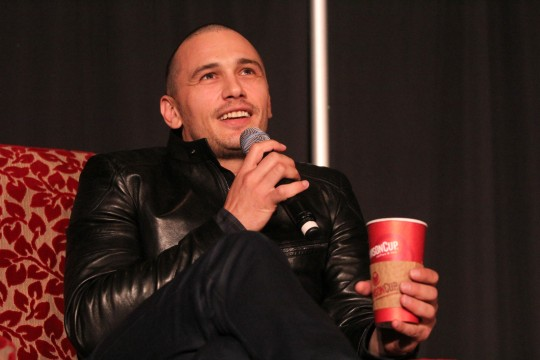 James Franco shares life story with Ohio State crowd