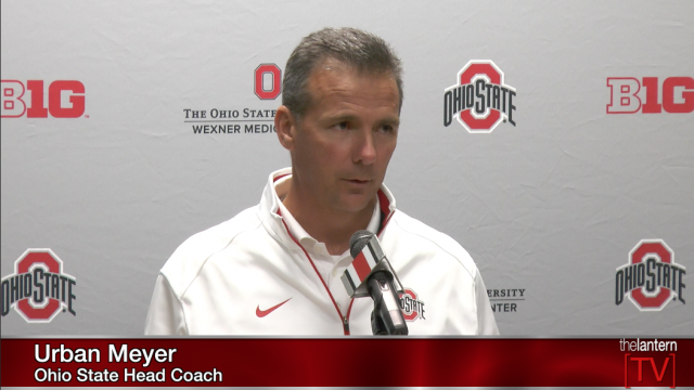 Meyer Monday: Buckeyes Look Back at Struggles against Cincy, Forward to Playing Maryland