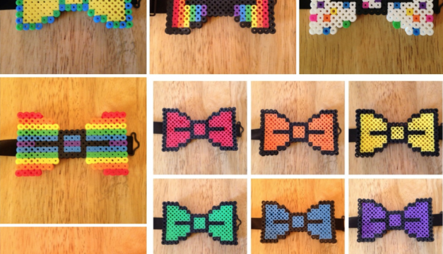 Formal wear and big hair: Grad designs bow ties with style, has Plenty O' Smiles