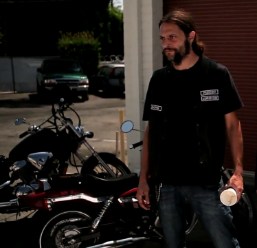 A scene from 'Devil's Couriers,' a web series created by OSU alumnus Shane Cibella. Credit: Screenshot of 'Devil's Courier' season one