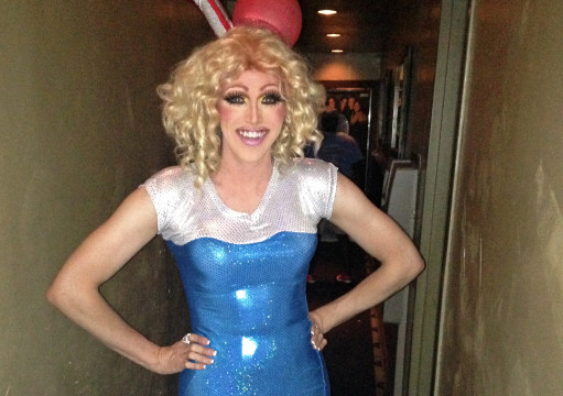 Recent OSU grad Alex Copeland dresses as his drag queen character, Plenty O' Smiles.  Credit: Courtesy of Alex Copeland