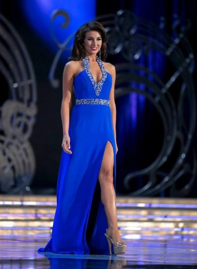 Miss Ohio Mackenzie Bart competed for Miss America on Sept. 14. Although she did not take the crown, Bart was a top 10 finalist.  Credit: Courtesy of Jay Jesensky