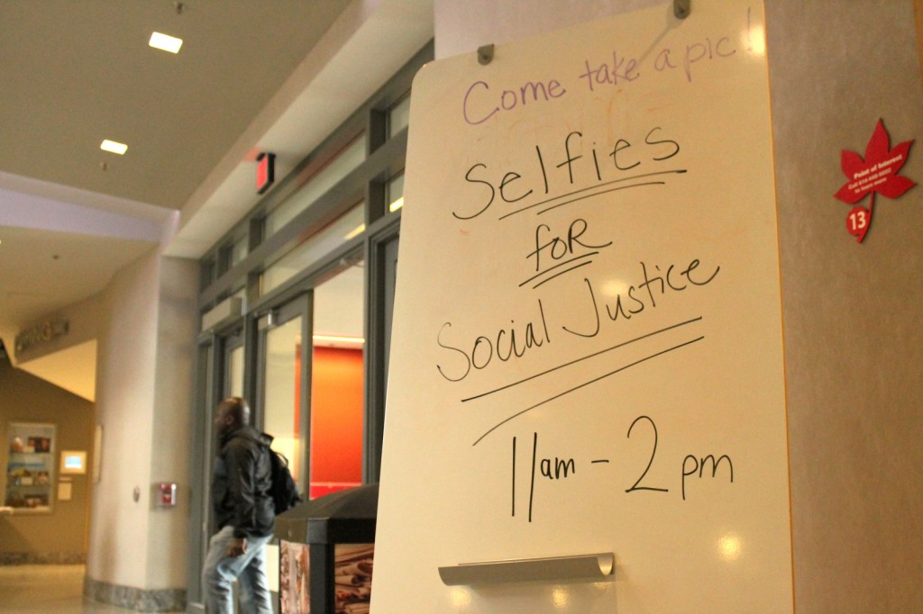 Ally Week Kicks Off With Selfies Encourages Students To Respect