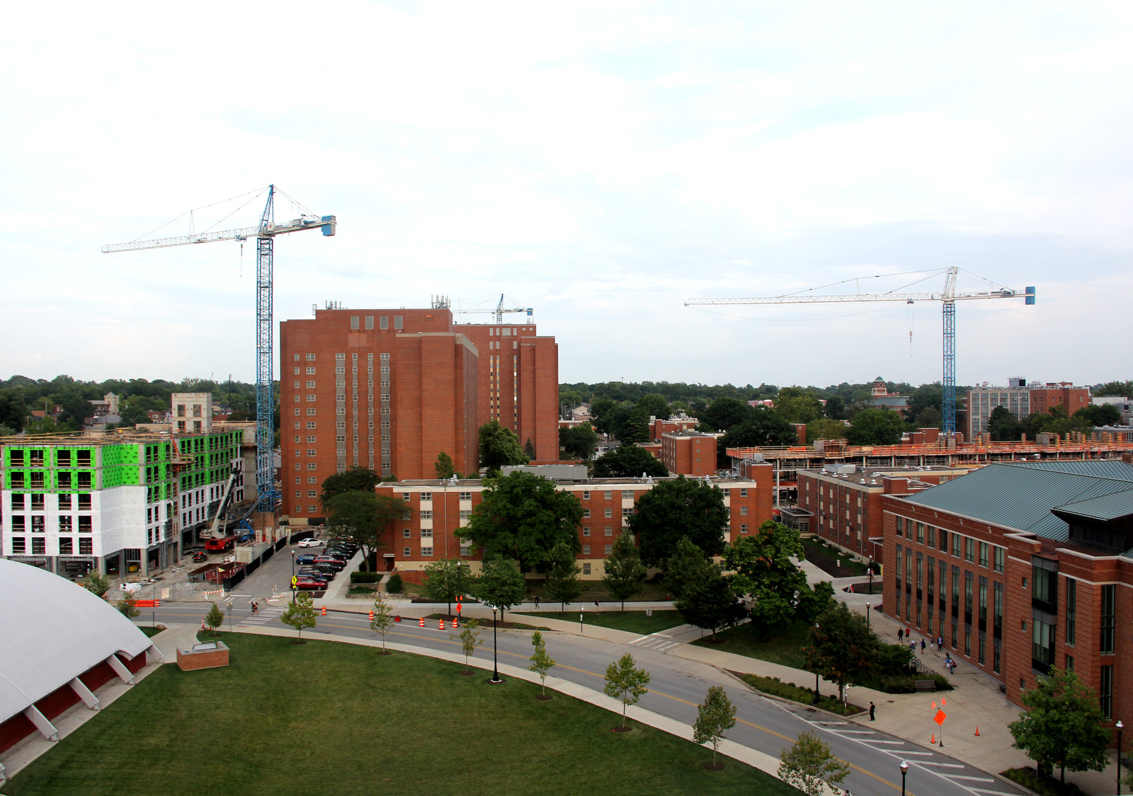 North Campus Residence Halls Continue Military Naming Tradition
