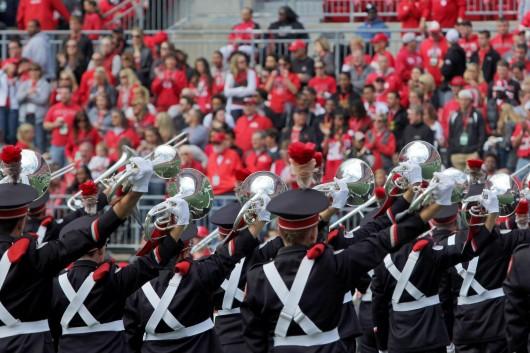 The OSU Marching Band.  Credit: Lantern file photo