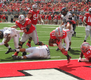 Ohio State's blowout against Kent State a morale boost after rare home loss