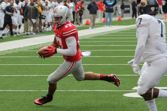 Ohio State offense progressing behind young talent