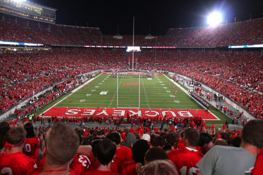 ohio stadium night games bring excitement record crowds the lantern