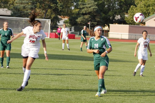 Ohio State women's soccer looks toward trip to Penn State