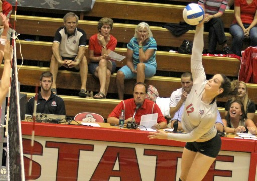 Ohio State women's volleyball takes one of three at Oregon Invitational