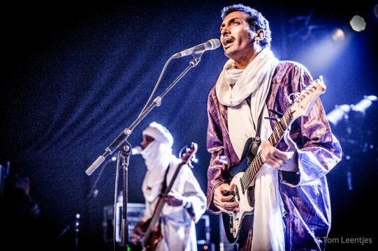 Guitarist Bombino brings his 'desert blues' to the Midwest