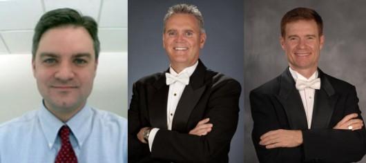Left to right: Chris Glaros, Russel Mikkelson, Scott Jones Credit: Courtesy of OSU