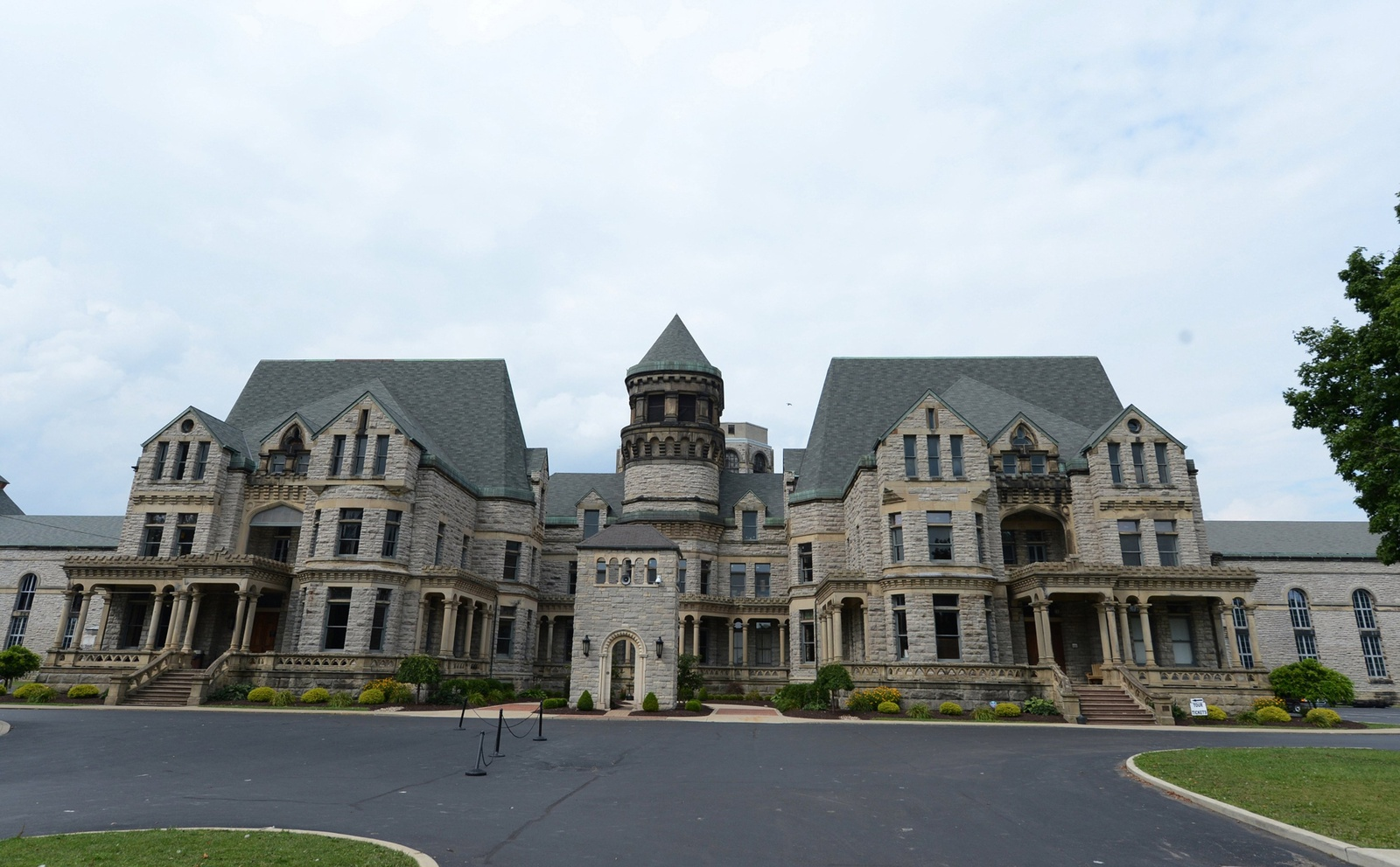 The Ohio State Reformatory in Mansfield, Ohio Credit: Courtesy of MCT