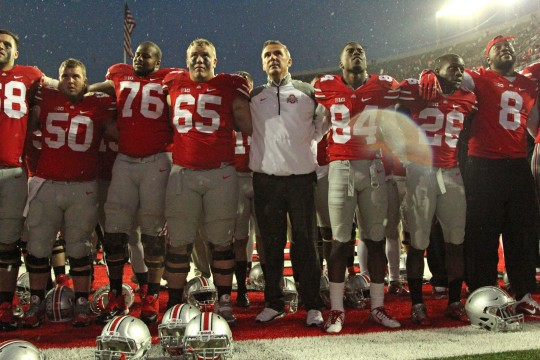 Urban Meyer doesn't see big change from BCS to College Football Playoff; Ohio State checks in at No. 16