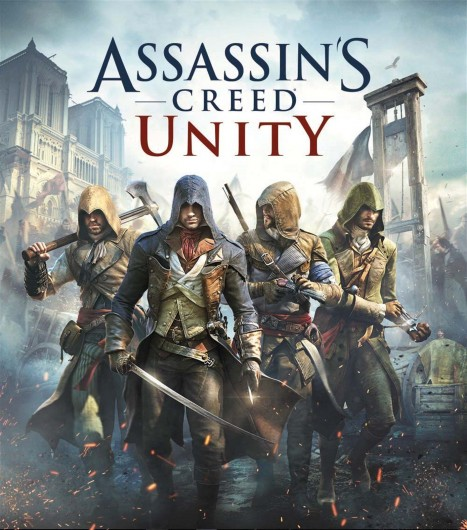 Cover art for 'Assassin's Creed Unity'