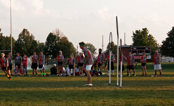 Ohio State students take Quidditch from fantasy to field