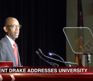 Buckeye News Now: President Drake speaks to university senate