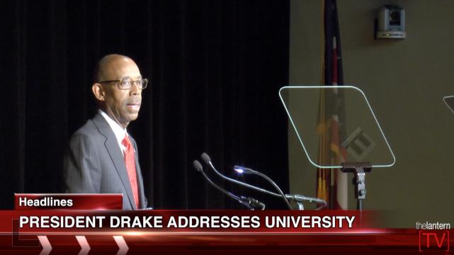 Buckeye News Now: President Drake speaks to university senate