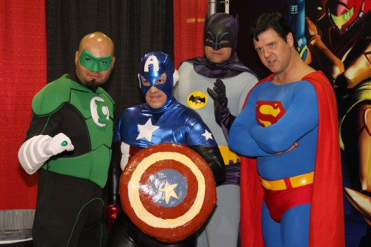Superheroes at Comic Con Credit: Courtesy of Wizard World
