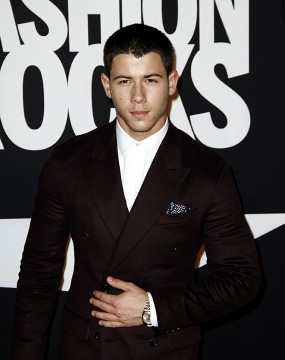Nick Jonas attends Fashion Rocks at the Barclays Center in Brooklyn, New York on September 9, 2014.  Credit: Courtesy of MCT
