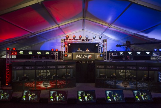 An MLG arena in Austin, Texas, similar to the one set to open in Easton. Credit: Courtesy of Katie Goldberg
