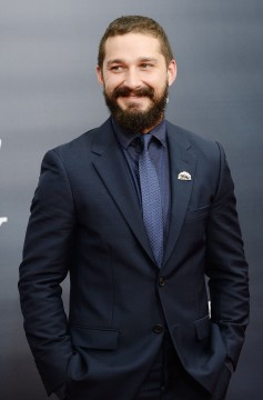 """Actor Shia LaBeouf attends the movie premiere of """"Fury"""" at the Newseum October 15, 2014 in Washington, DC. Credit: MCT"""