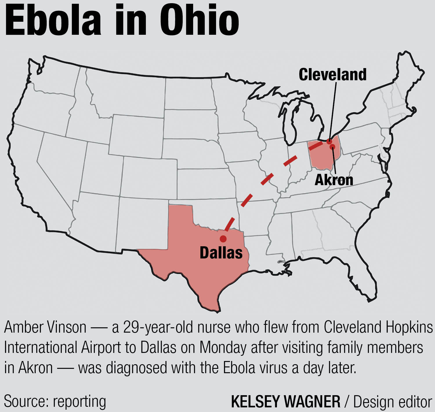 Ohio State Monitors Ebola After Infected Patient Traveled