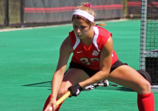 Ohio State field hockey splits weekend slate