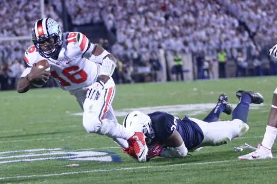 J.T. Barrett put pain, past behind him to carry Ohio State in overtime
