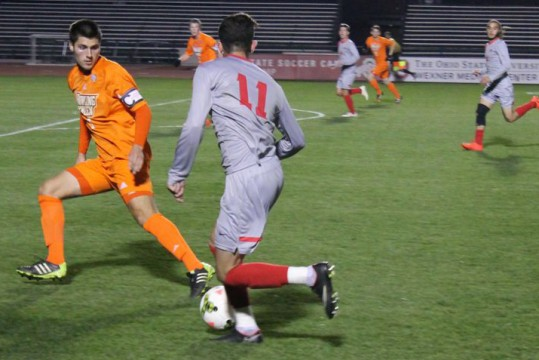 Ohio State men's soccer preparing for first ever matchup with Rutgers