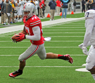 Jalin Marshall morphing into all-around playmaker for Ohio State