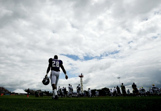 Opinion: Adrian Peterson's downfall a sad sight