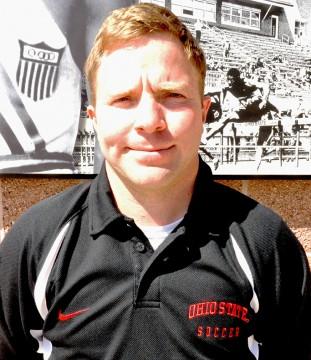 Men's soccer assistant coach Ian Gordona. Credit: Courtesy of OSU Athletics