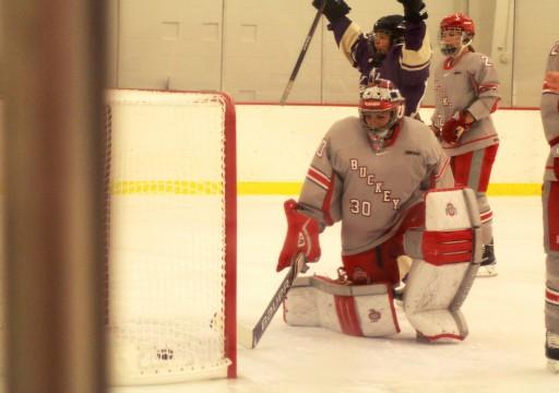 Ohio State women's ice hockey shutout, swept by No. 2 Wisconsin